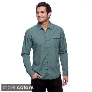 Split Vari-Warped Plaid Shirt