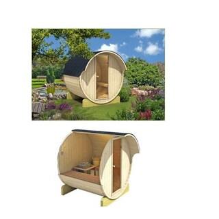 Allwood 70.9-inch Barrel-shaped Sauna