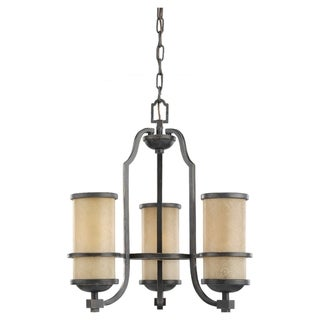 3-light Roslyn Chandelier