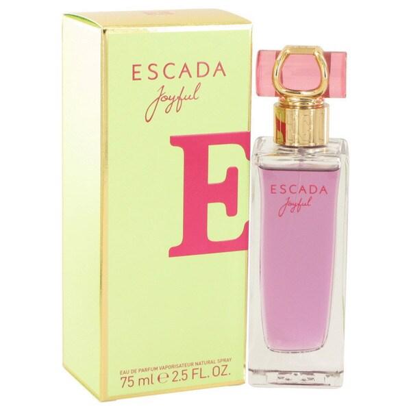 Escada Joyful Womens 25 Ounce Eau De Parfum Spray