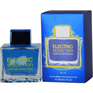 Antonio Banderas Electric Seduction Blue Men's 3.4-ounce Eau de Toilette Spray
