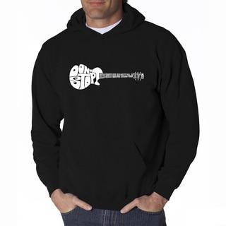 LA Pop Art Men's Don't Stop Believin' Hooded Sweatshirt