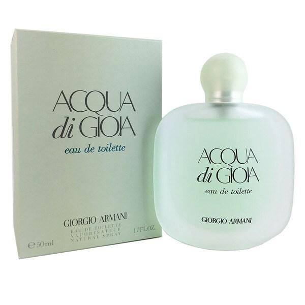 giorgio armani acqua di gioia s 1 7 ounce eau de toilette spray free shipping today