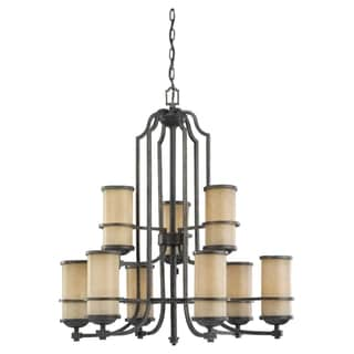 9-light Multi-Tier Chandelier