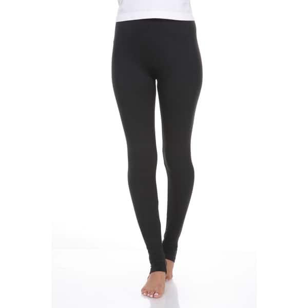 Shop White Mark Women S Cotton Leggings On Sale Overstock 9613469