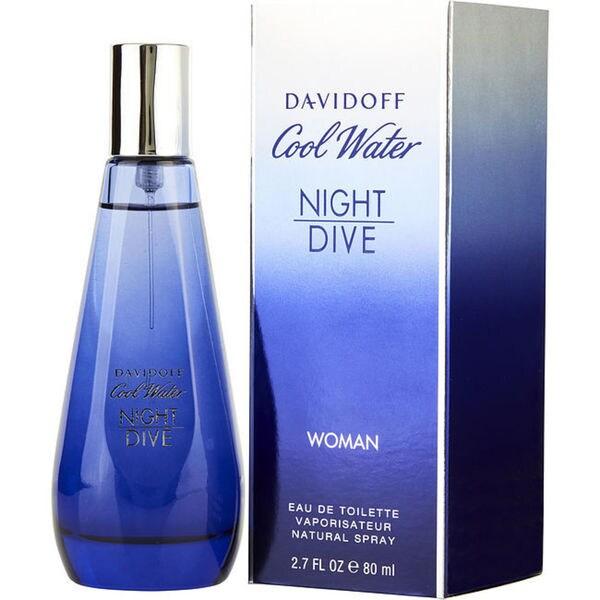 Shop Zino Davidoff Cool Water Night Dive Womens 27 Ounce Eau De
