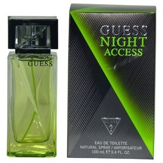 Guess Night Access Men's 3.4-ounce Eau de Toilette Spray