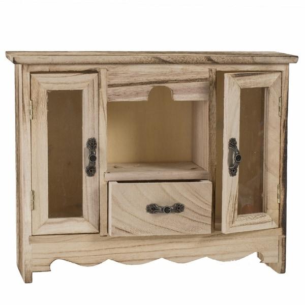 Wooden Curio Jewelry Box
