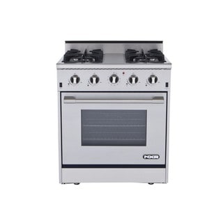NXR 30 Inch Stainless Steel Gas Range