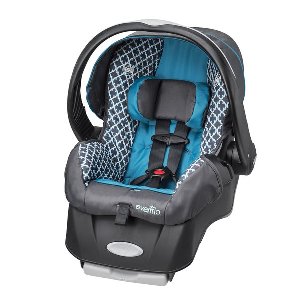 evenflo embrace lx infant car seat in monaco free shipping today 16799092. Black Bedroom Furniture Sets. Home Design Ideas