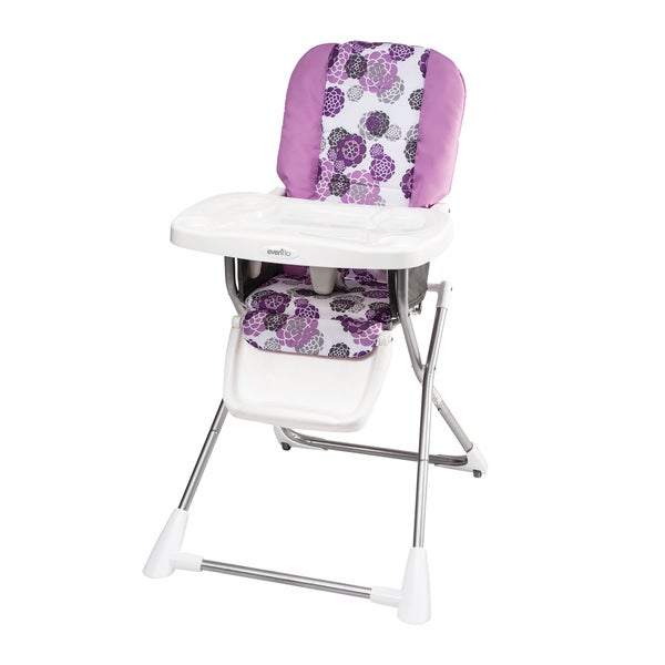 Evenflo Compact Fold High Chair In Lizette Free Shipping