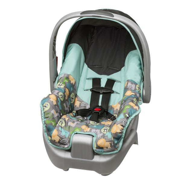 Shop Evenflo Nurture Infant Car Seat In Jungle Safari