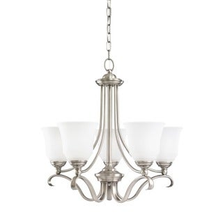 Sea Gull Parkview 5-light Antique Brushed Nickel Chandelier
