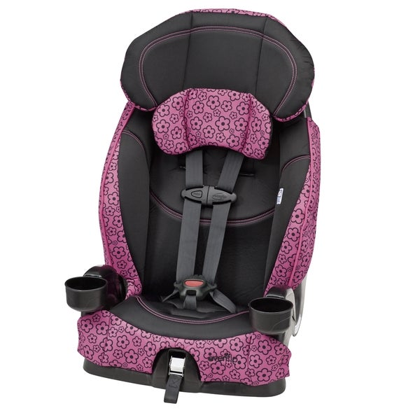 evenflo chase select harnessed booster car seat in olivia. Black Bedroom Furniture Sets. Home Design Ideas