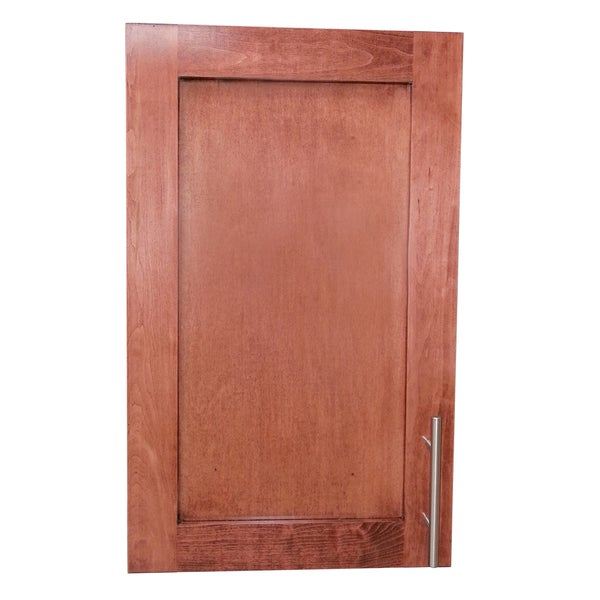 Shop Classic Dark Cherry Wall Mounted Shallow 2 5 Inch