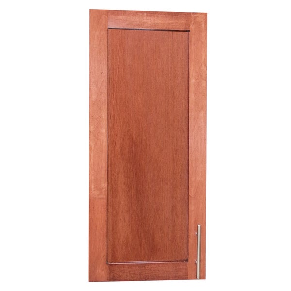 Classic dark cherry wall mounted shallow 2 5 inch depth 30 for 30 inch deep kitchen cabinets