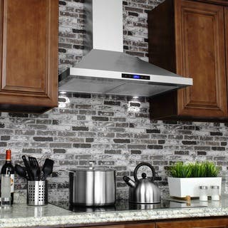 AKDY 30-inch OSWRH63175S-30-AK Stainless Steel Wall-mount Range Hood|https://ak1.ostkcdn.com/images/products/9613784/P16799496.jpg?impolicy=medium