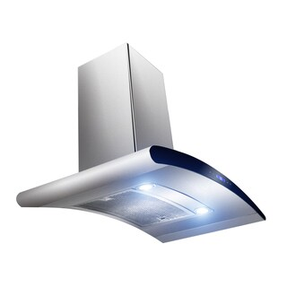 """AKDY RH0070 36"""" Europe Stainless Steel Wall Mount Range Hood Stove Vent Touch Control"""