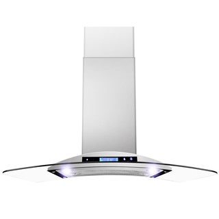 36-inch OSWRH198KN-36-AK Digital Touch Control Stainless Steel Wall Mount Range Hood
