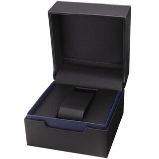 Joshua & Sons Men's Swiss Quartz Diamond-Accented Gold-Tone Bracelet Watch