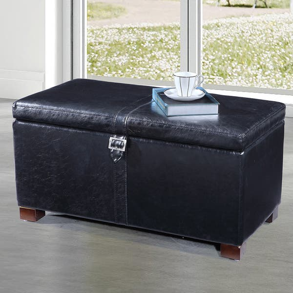 Swell Shop Royal Comfort Collection Classic Buckled Storage Bench Onthecornerstone Fun Painted Chair Ideas Images Onthecornerstoneorg