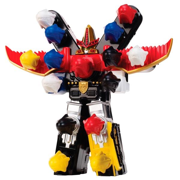 Bandai Power Rangers BattleFire Ultra Gosei Great Megazord