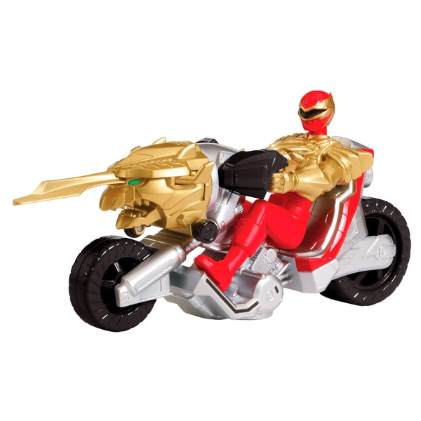 Bandai Power Rangers Ultra Red Dragon Cycle