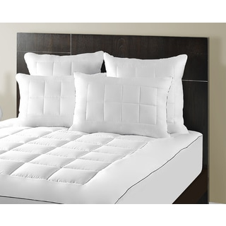 Maison Luxe Ultimate Comfort & Support Luxury Pillowtop Mattress Pad