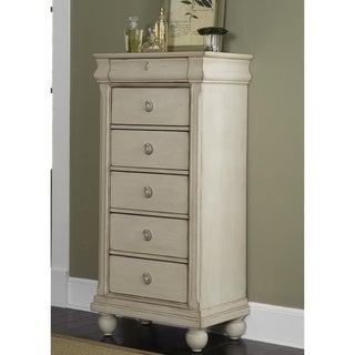 Liberty Rustic White Traditions 6-drawer Lingerie Chest