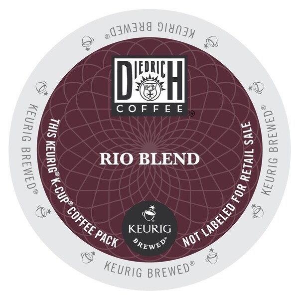Diedrich Rio Blend Coffee, K-Cup Portion Pack for Keurig Brewers