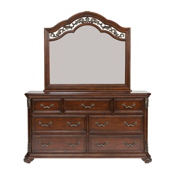 Messina Estates 7-drawer Dresser and Mirror Set