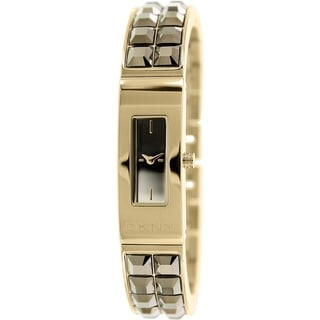 Dkny Women's Beekman NY2228 Gold Stainless-Steel Quartz Watch with Gold Dial
