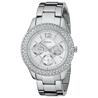 Fossil Women's Stella ES3588 Silver Stainless-Steel Quartz Watch with Silver Dial|https://ak1.ostkcdn.com/images/products/9614166/P16798905.jpg?_ostk_perf_=percv&impolicy=medium