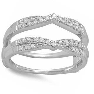 14k Gold 1/3ct TDW Diamond Wedding Band Enhancer Ring (H-I, I1-I2)