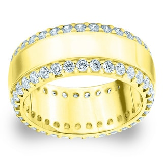Amore Yellow Gold 1 1/2ct TDW Diamond Anniversary Band (G-H, SI1-SI2)