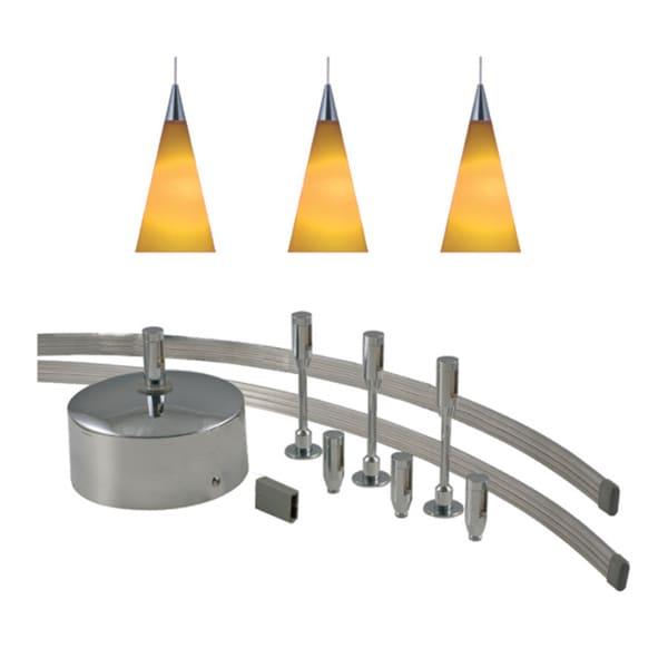 monorail pendant lighting. jesco 3light 150watt low volt complete monorail pendant kit lighting