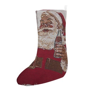 Coke Santa Claus Stocking