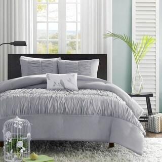 Mi Zone Delia Grey Comforter Set