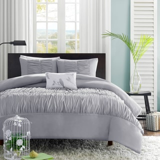 Mi Zone Delia Grey Duvet Cover Set