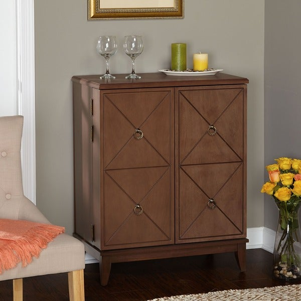 Simple Living Lexington Wine Cabinet - Free Shipping Today ...