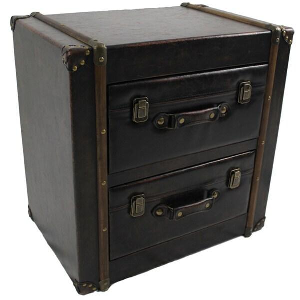 Shop International Caravan Vintage Antique Faux Leather 2