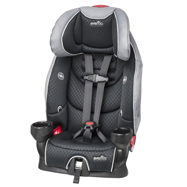 evenflo securekid lx booster car seat in raven free shipping today overstock 16800026. Black Bedroom Furniture Sets. Home Design Ideas