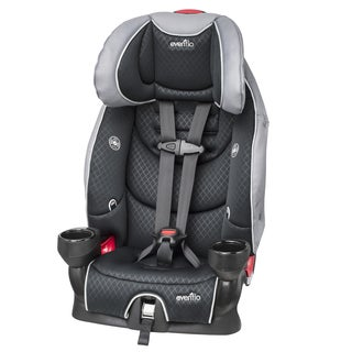 Evenflo SecureKid LX Booster Car Seat in Raven