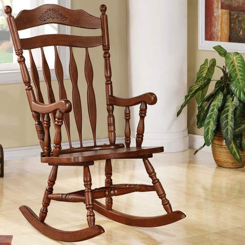 Madrone Windsor Country Style Rocking Chair