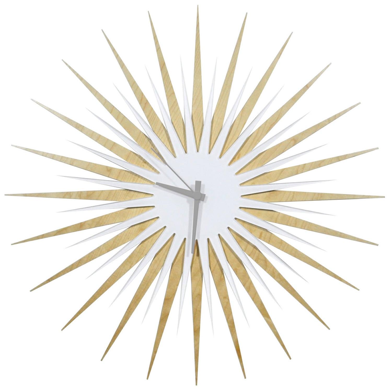 Modern Crowd Atomic Era Clock