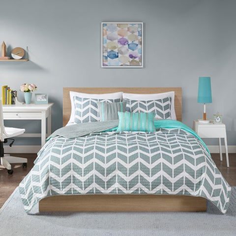 Intelligent Design Ella 5-piece Coverlet Set