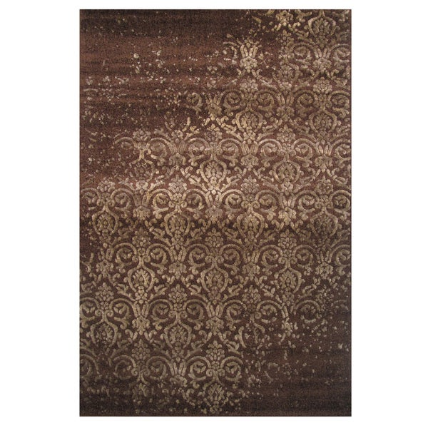 Era Brown Frisee Area Rug 2 X 8 Free Shipping Today