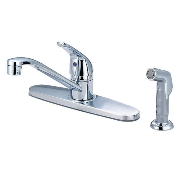 Shop Olympia Faucets K 4162 Single Handle Kitchen Faucet Chrome