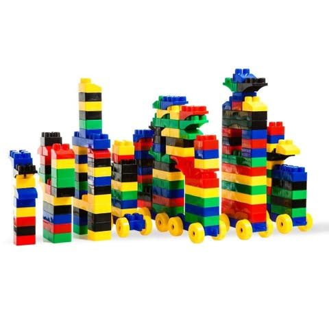 Dimple DC15381 Child 150 Piece Building Bricks Set with Carry Bag