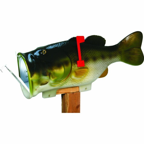 Rivers Edge Products Giant 35-inch Bass Mailbox